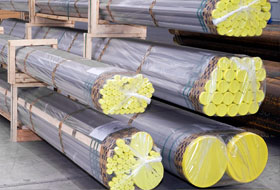 ASTM A312 TP 304 Stainless Steel Welded Pipe packed at Gautam Steel Factory